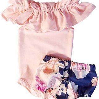 Newborn Baby Girl 6 9 12 18 Months Jumpsuit Bodysuit