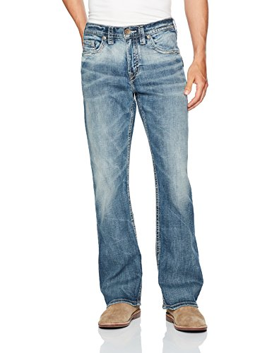 Silver Jeans Co. Men's Co Craig Bootcut, Medium Vintage