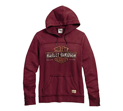 Harley-Davidson Official Women's Genuine Pullover Hoodie
