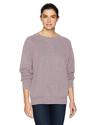 prAna Women's Cozy Up Sweatshirt, Bleached Lavender Heather