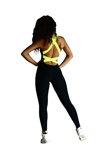 Designed for Fitness Neon Yellow Jumpsuits for Women