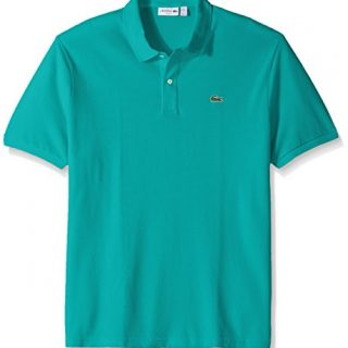 Lacoste Men's Short Sleeve Classic Pique Slim Fit Polo Shirt