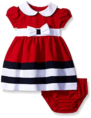 Bonnie Baby Baby Peter Pan Collar Nautical Dress and Panty Set