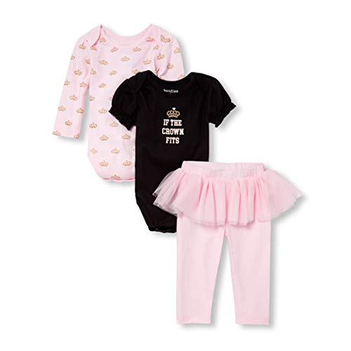 The Children's Place Baby Girls 3 Pack Novelty Printed Jacket Set