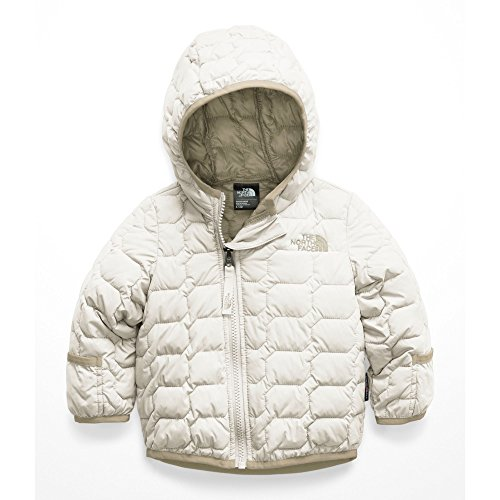 The North Face Unisex-Baby Infant Thermoball Hoodie, Vintage White - 24M