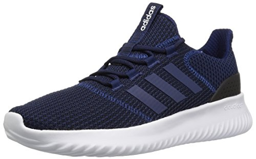 adidas Men's Cloudfoam Ultimate Running Shoe Dark Blue/Black