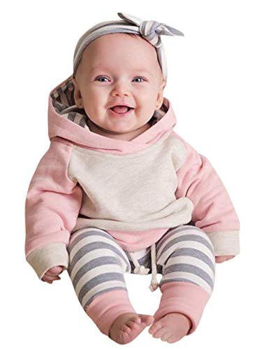Baby Boys Girls Clothes Long Sleeve Hoodie Tops Sweatsuit