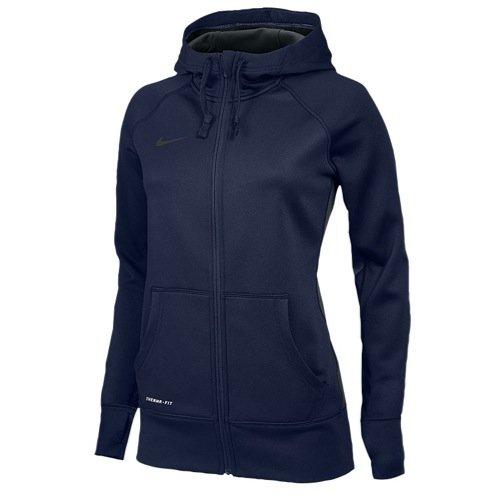 Nike Womens Full Zip KO Hoody - Navy - Small
