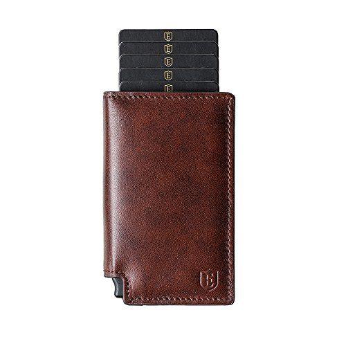 Ekster: Parliament Slim Leather Wallet- RFID Blocking