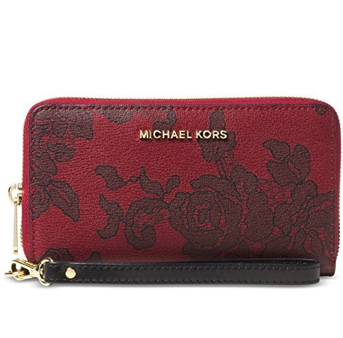 MICHAEL Michael Kors Womens Jet Set Faux Leather