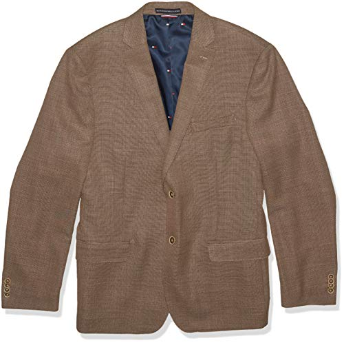 Tommy Hilfiger Men's Modern Blazer, Rustic Brown