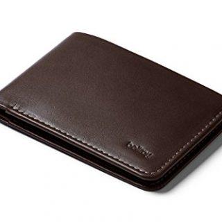 Bellroy Low Wallet, slim leather wallet