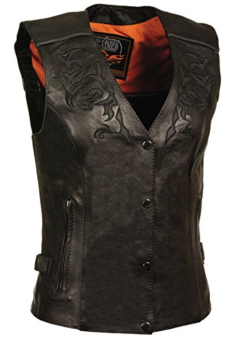 Milwaukee Women's Leather Vest