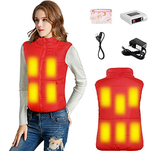 Electric Warm Vest for The Aged Women Heated Coat
