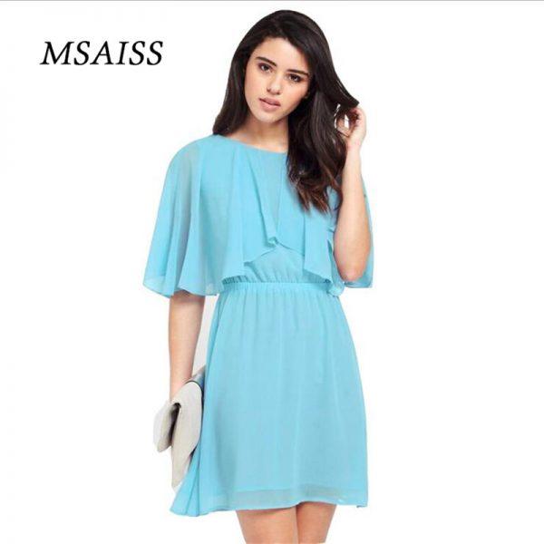 MSAISS Women Summer Dress Black Party Dresses
