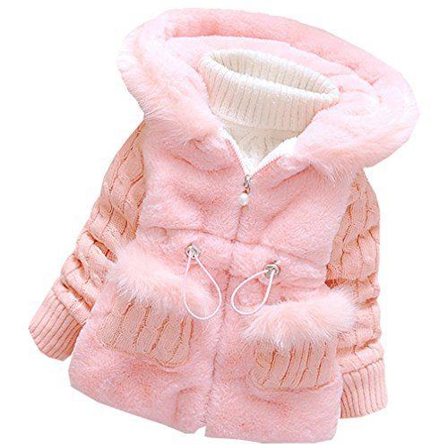 DORAMI Baby Girls Winter Autumn Cotton Warm Cotton Jacket Coat