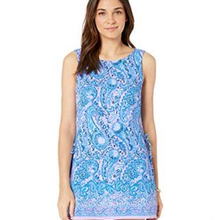 Lilly Pulitzer Women's Donna Romper Purple Iris Hello Sunshine