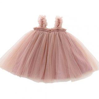 LYXIOF Baby Girls Tutu Dresses Sleeveless Princess Dress