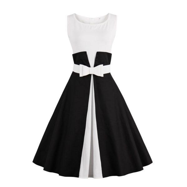 17 New Summer Dress Sleeveless patchwork style