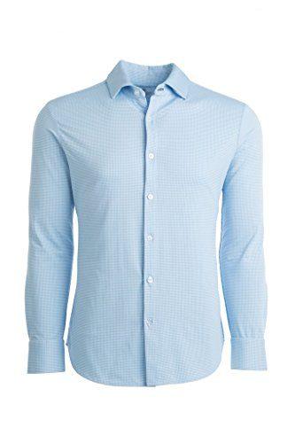 Mizzen + Main Spinnaker Trim Fit Mens Button Down Shirt