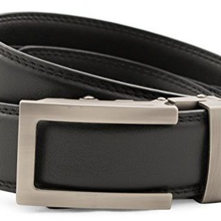 Anson Belt & Buckle - Men's Traditional Gunmetal Buckle