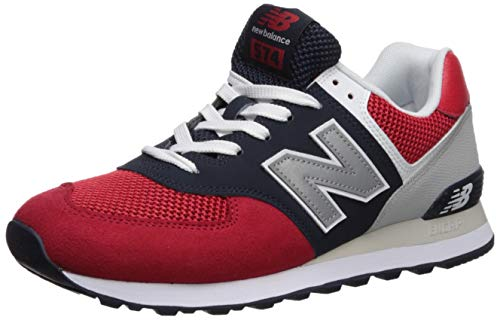 New Balance Men's Iconic Sneaker, Team red/Pigment