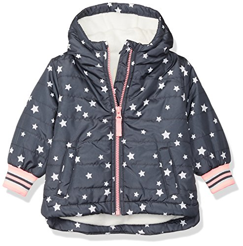 Osh Kosh Baby Girls Midweight Fleece-Lined Jacket