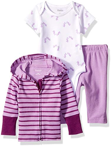 Hanes Ultimate Baby Zippin Pants and Knit Hoodie