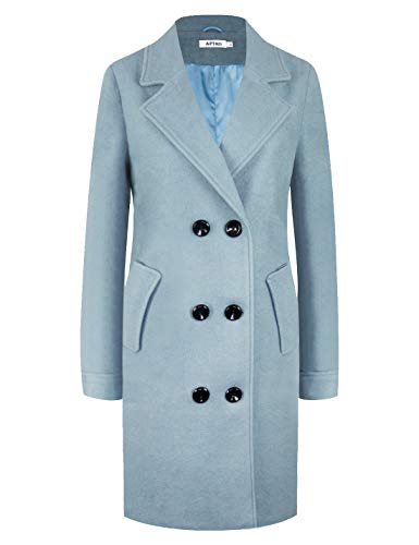 APTRO Women's Winter Double Breasted Wool Coat