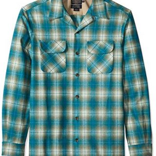Pendleton Men's Tall Size Big & Tall Long Sleeve Board Shirt