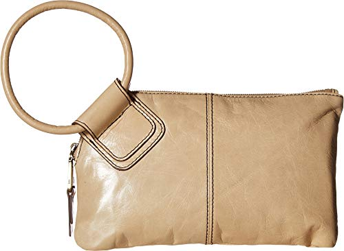 Hobo Women's Leather Sable Wristlet Clutch Wallet