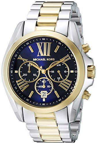 Michael Kors Men's Bradshaw Two-Tone Watch