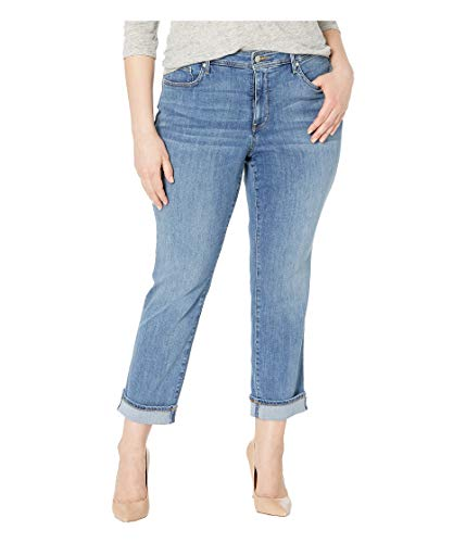 NYDJ Women's Plus Size Marilyn Straight Ankle Jean