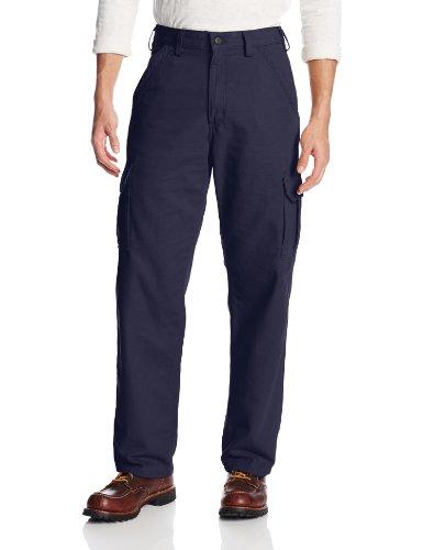 Carhartt Men's Flame Resistant Cargo Pant,Dark Navy