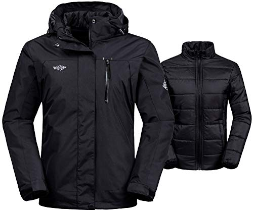 Wantdo Women's Interchange Jacket 3-in-1 Winter Coat Windproof