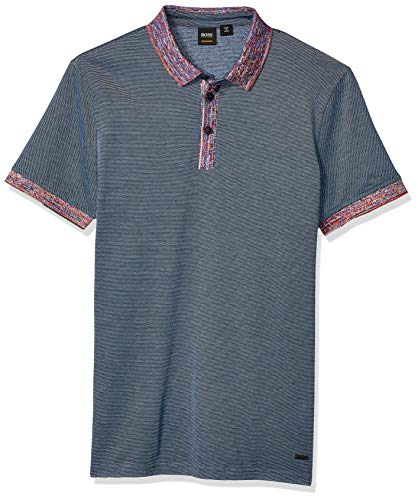 BOSS Orange Men's Punch Short Sleeve Polo Shirt