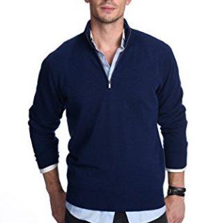 State Cashmere Men's 100% Pure Cashmere Pullover