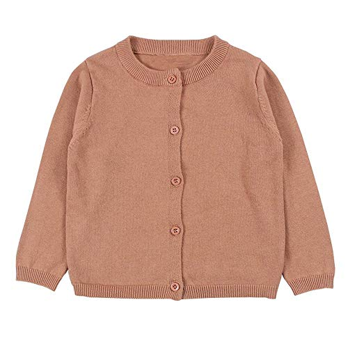 Wennikids Baby Girls' Little Knit Cardigan Button Sweater