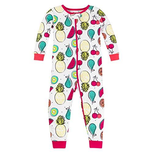 LAMAZE Organic Baby Girls' Toddler Footless Stretchy Sleepwear