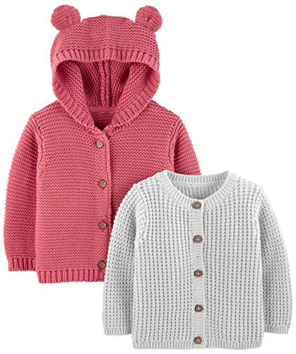 Simple Joys by Carter's Baby 2-Pack Neutral Knit Cardigan Sweaters