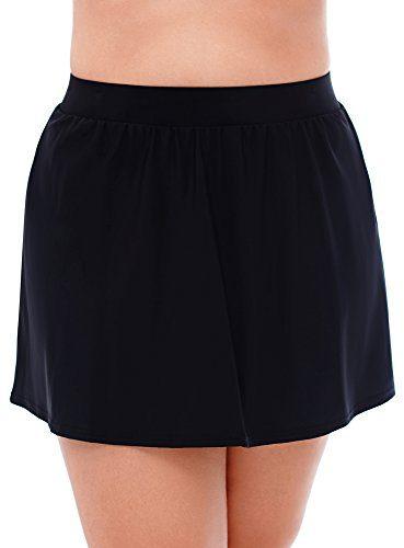 Miraclesuit Women's Plus Size Swimwear Swim Skirt Slimming Bathing Suit Bottom