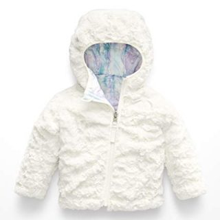 The North Face Kids Baby Girl's Reversible Mossbud Swirl Hoodie