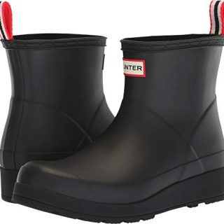 Hunter Women's Original Play Boot Short Rain Boots Black