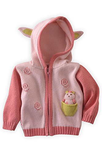 Joobles Organic Baby Cardigan Sweater - Cutie The Lamb