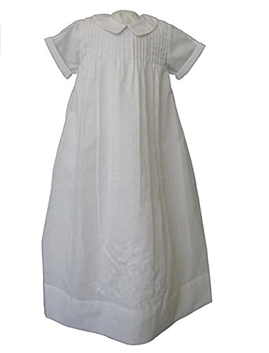Feltman Brothers Boys White Christening Gown
