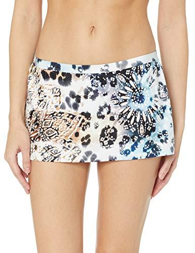 Kenneth Cole New York Women's Skirted Hipster Bikini Swimsuit Bottom