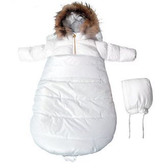 BEBEBON Baby Winter Bunting Set Snowsuit & Stroller Sack