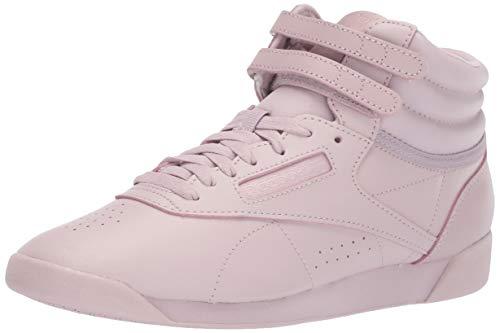 Reebok Women's Freestyle Hi, Pastel-Ashen Lilac