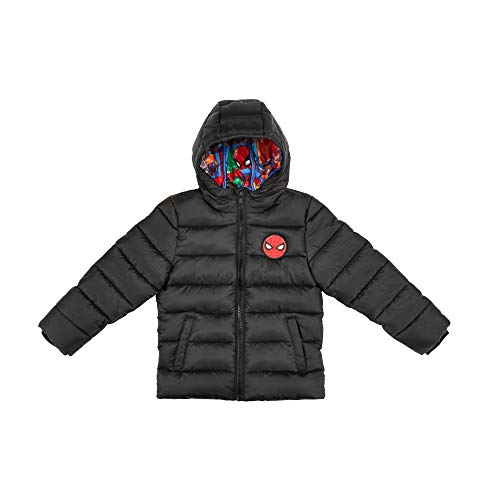The Arctic Squad Spiderman with Marvel Lining Toddler Hooded Puffer Jacket