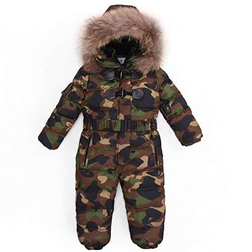 Children Winter -30 Degree Thicken Rompers Baby Boys